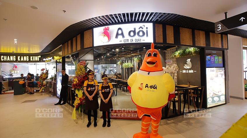Cơm gà A Dổi - một thương hiệu mới của công ty New Pearl