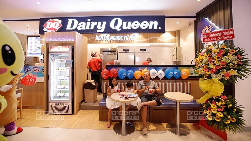 Dairy Queen – Những ly kem úp ngược nổi tiếng thế giới
